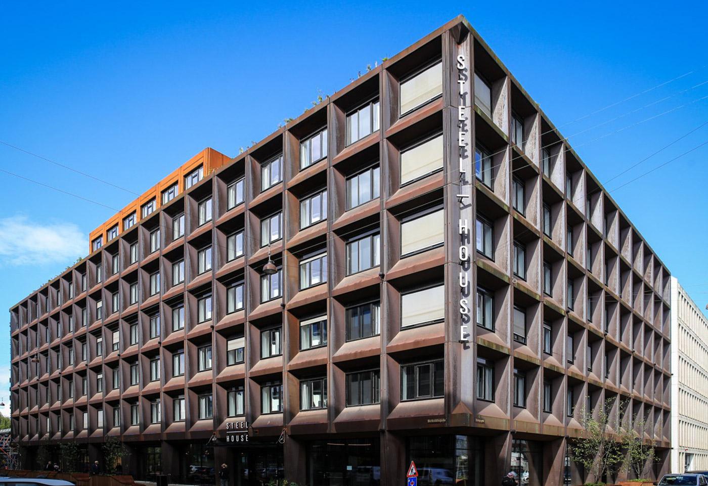 Steel house copenhagen københavn v